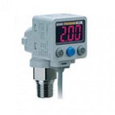 Датчик давления/вакуума с двухцветной цифровой индикацией ZSE80/ISE80